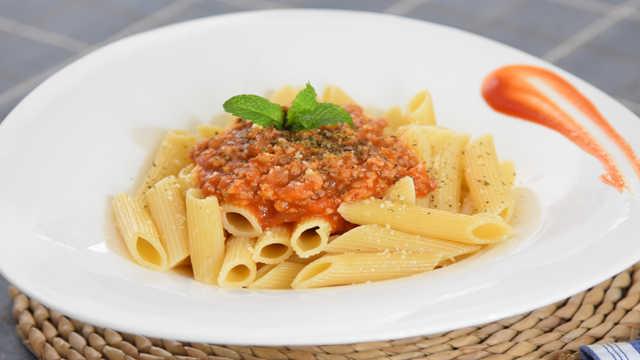吃不腻的番茄肉酱通心粉