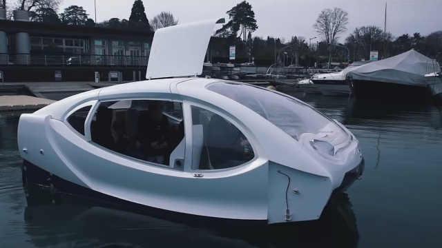 出行新方式,水上出租车来了