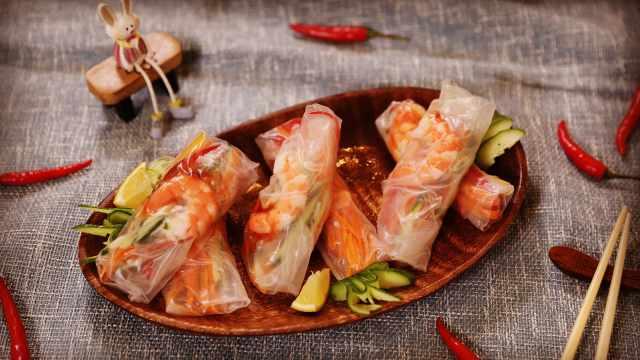 关键是吃不胖,越南春卷你值得拥有