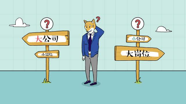 岗位和公司该怎样选择?