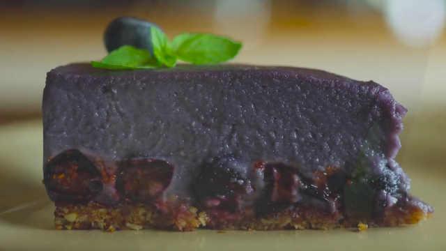 下午茶推荐:美食博主教做蓝莓蛋糕
