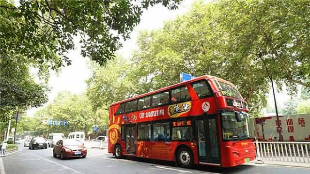 南京双层观光巴士正式回归!