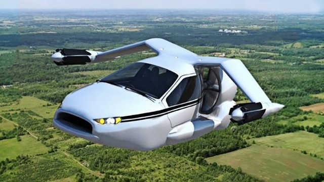 5个能飞的汽车!科技改变生活