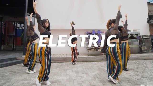 《Electric》编舞,抒情柔美