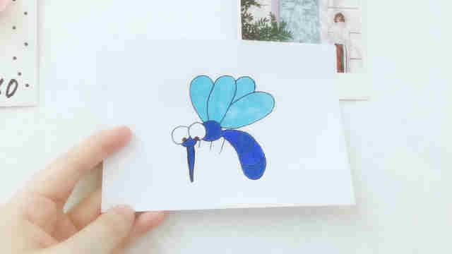 domi一分钟教你手绘讨厌的蚊子!
