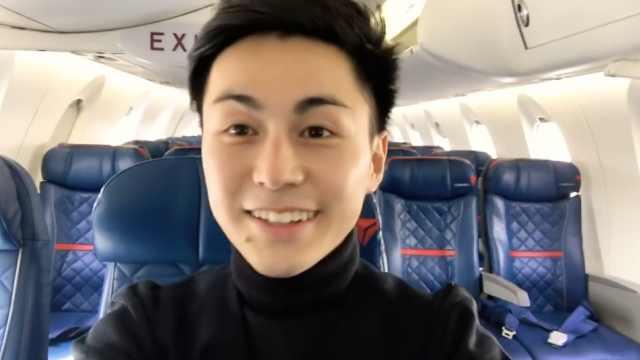 笑容治愈!日本空乘小哥哥的一天