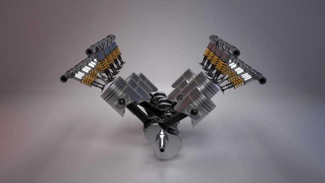 汽车发动机内部工作原理之零件部分