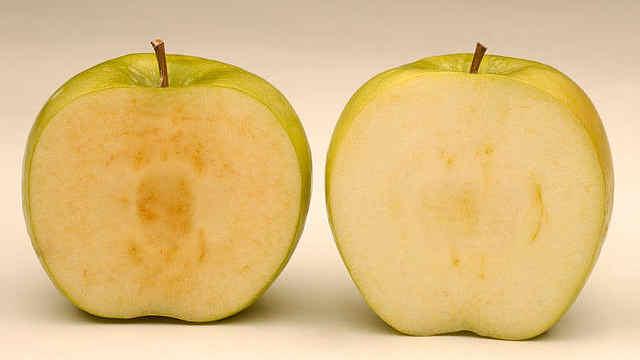 """为什么苹果削皮之后会""""生锈""""?"""