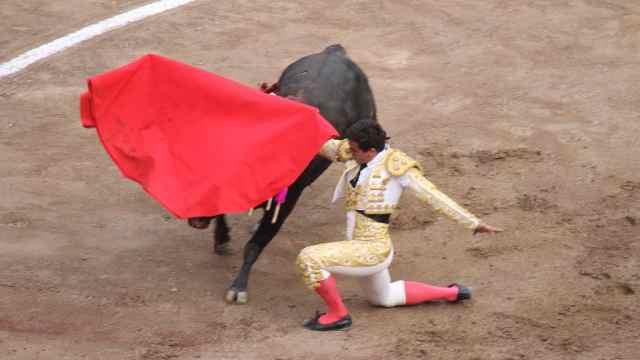 斗牛士真的是用红布让牛发怒的吗?