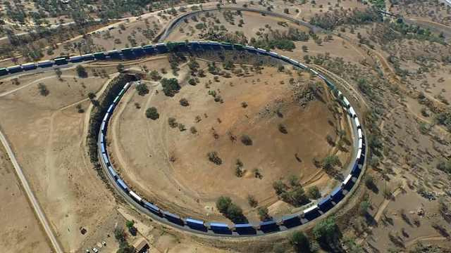 世界上最长的火车有多长?有多少节