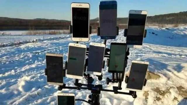 哈尔滨冬天不能用手机是真的吗?