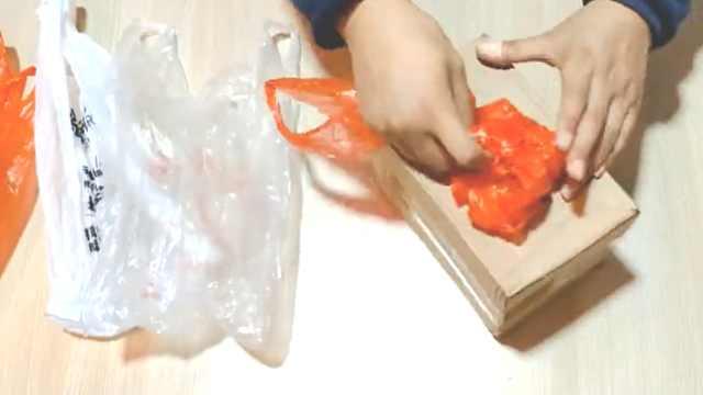 神了,废旧快递纸箱能变垃圾袋抽盒