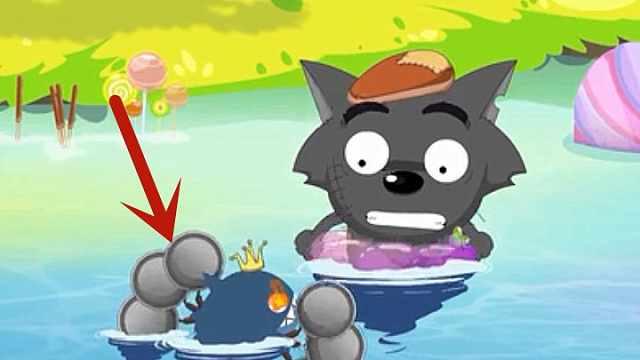 灰太狼不是最惨?红太狼被喂食人鱼