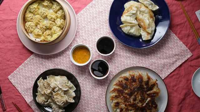 中日韩尼饺子对比!你喜欢哪一种?