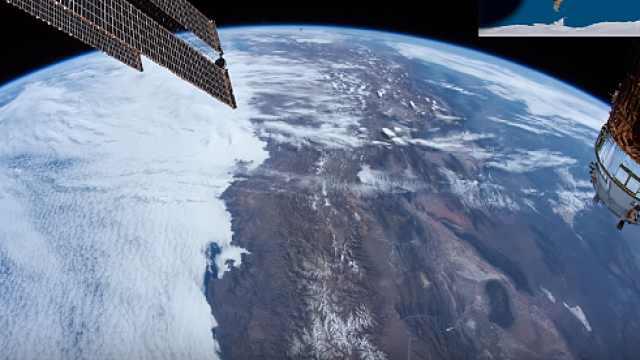 国际空间站20岁啦!带你看最美地球
