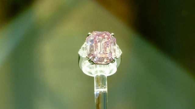 钻石界达芬奇!粉红钻石拍出天价
