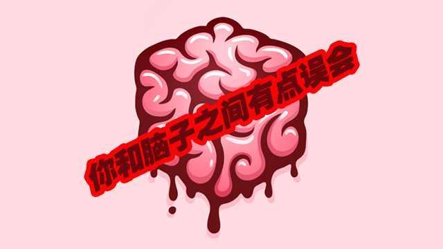 你和脑子之间有点小误会