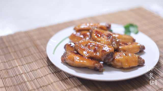 蜜汁鸡翅,好吃到拔丝的鸡翅做法