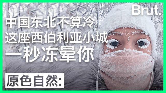 中国东北不算冷:这里能一秒冻晕你