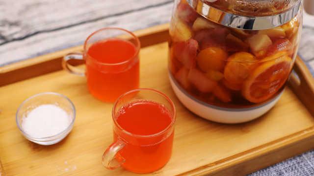 冬日午后,盡享一杯繽紛果茶熱飲!