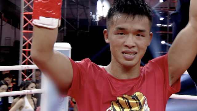 拳击手王俊光谈择偶观:喜欢温柔的