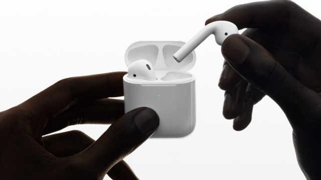 苹果推出AirPods二代