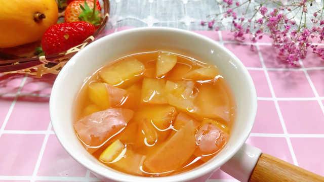 苹果柠檬水,酸甜可口,口感独特!