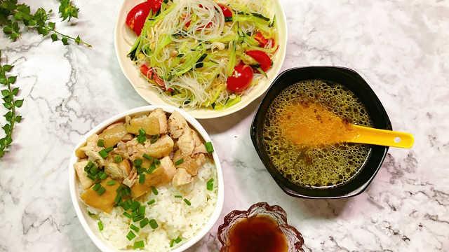 雞腿套餐,幫你選擇一餐的搭配!