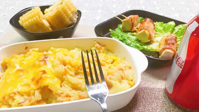 土豆泥套餐,这顿饭相当美味!