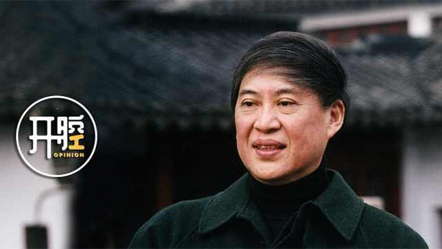 白先勇開腔:中華民族需要文藝復興