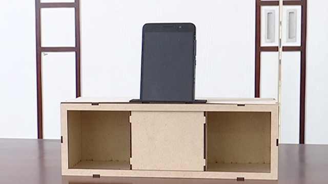 小学生发明不插电音箱:声音大1.5倍