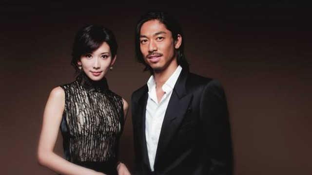 林志玲夫妇婚后首次合体现身
