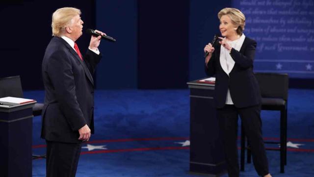 4分钟带你看完第二场总统辩论