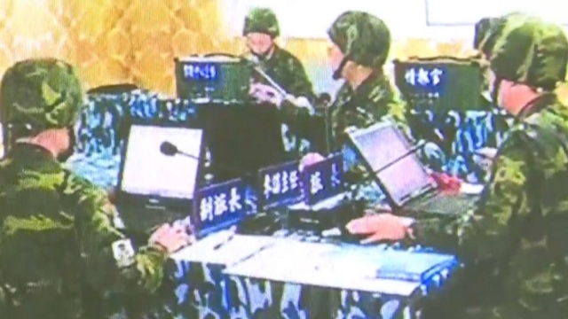 朱日和蓝军旅指挥部:完全还原台军