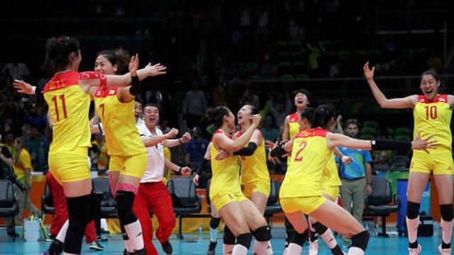 夺冠了!郎平率女排问鼎里约奥运