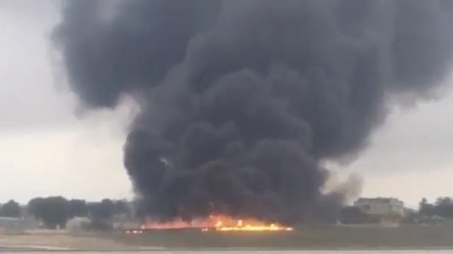 马耳他发生坠机 至少5人遇难