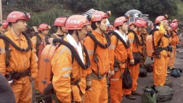 重庆瓦斯爆炸煤矿被困工人来自本地