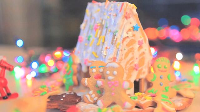 姜饼屋住着姜饼人