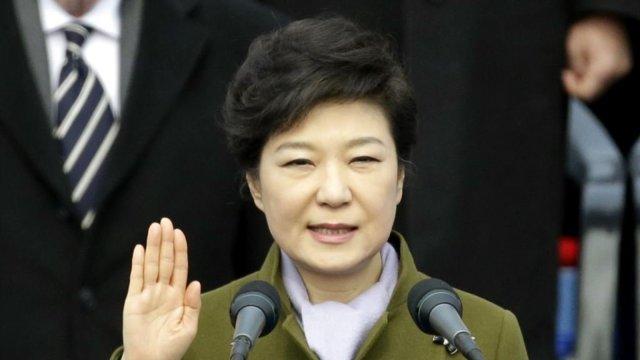 """朴槿惠:期待""""新""""的韩美关系"""