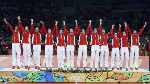 当之无愧!中国女排,最佳团队!