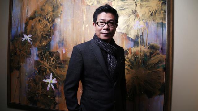 最会画画的老板王中军上海开画展