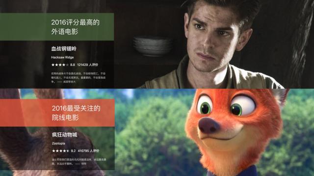 豆瓣年度电影榜单出了bug?
