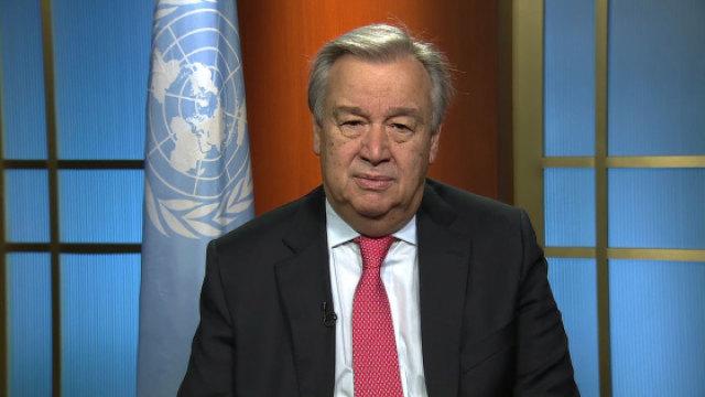 来自新任联合国秘书长的呼吁