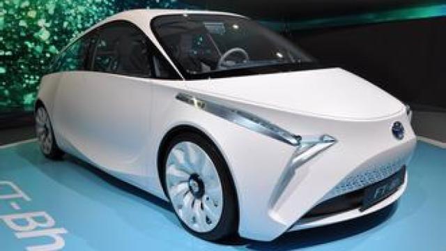 丰田推出概念车:用人工智能武装