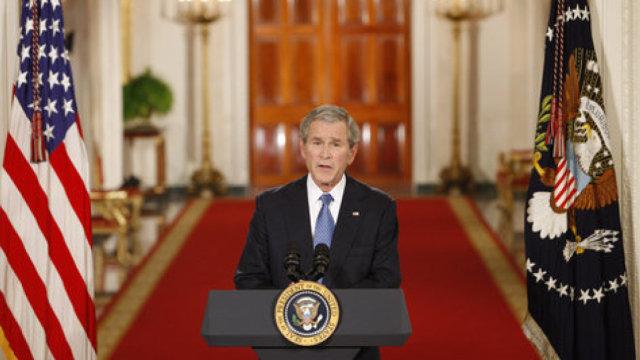 奥巴马之前,先看看布什的告别演说
