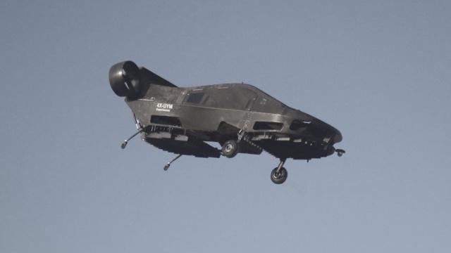 带你飞,以色列公司试飞载客无人机