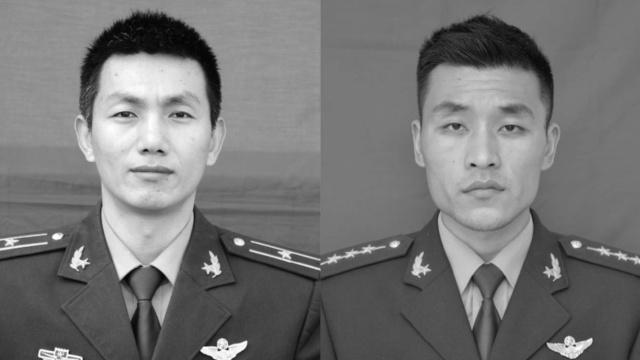 陆航直升机训练坠毁,两飞行员牺牲