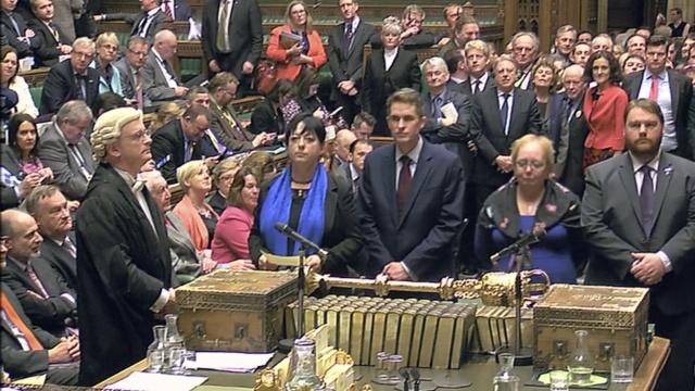 """英国议会下院高票通过""""脱欧""""法案"""