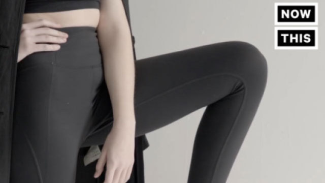 时尚环保之友 塑料水瓶变打底裤