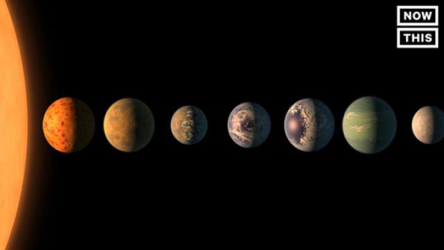 NASA发现7颗类地行星,3颗或有生命
